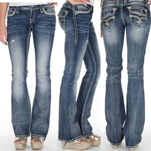 Rock Revival Elenor Bootcut Jeans Sz 28
